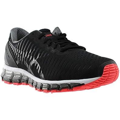 lowest price ae05b c4277 ASICS Womens Gel-Quantum 360 cm Running Shoe, Black/Onyx/Hot Red, 8 B(M) US