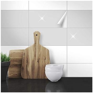 Wandkings Fliesenaufkleber - 30 x 60 cm, 20 Stück für Fliesen in  Badezimmer, Küche & mehr