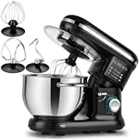 Deals on ALBOHES Stand Mixer, 6 Quart 6-Speed Tilt-Head Dough Mixer