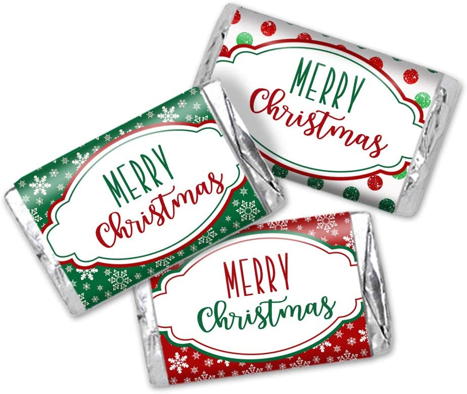 Christmas Little Golden Books Stocking Stuffers Christmas Party Favors Mini Candy Bar Labels 54 CT Printed Labels Candy Wrappers
