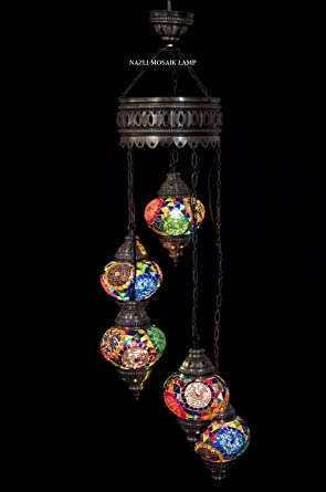 Mosaic chandeliermosaic lampturkish lampmoroccan lantern amazon mosaic chandeliermosaic lampturkish lampmoroccan lantern aloadofball Images