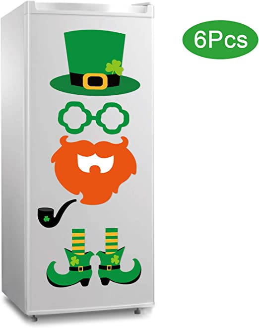 Decal Sticker Multiple Sizes Happy St Patricks Day Business Style T Holidays and Occasions Happy St Patricks Day Outdoor Store Sign Green Set of 10
