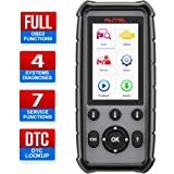 Autel 4 System Scanner MD806 Car Diagnostic Tool Diagnoses for ABS, Engine, Transmission, SRS Full OBD2 Functions Car…