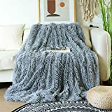 Decorative Extra Soft Faux Fur Blanket Queen Size