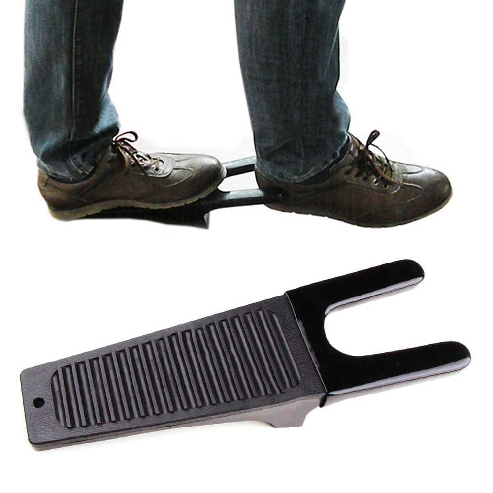 Ainstsk Boot Jack,Heavy Duty Boot Puller,Shoe Foot Jack,Wellington Remover Puller Muddy Foot Scraper,Welly Scraper,Cleaner