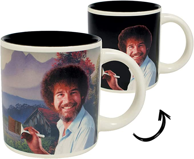 bob ross mug gift for co-workers