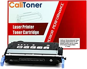 Ink Now Compatible Toner Cartridge Replacement for HP Q6460A (Black , 1-Pack)