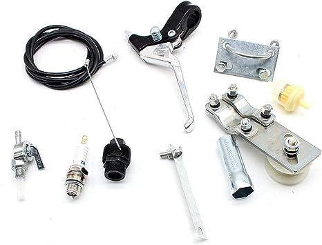 vidaXL Set Strumenti Fasatura Motore 7 pz Attrezzo per Automobili Solido Robusto Resistente Durevole Pratico Efficace Utensili Officina Autovetture