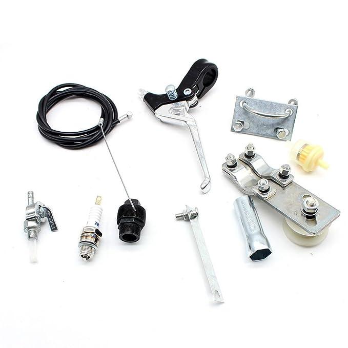 50 cc 2 tiempos ciclo de pedal gasolina gas motor Kit para ...