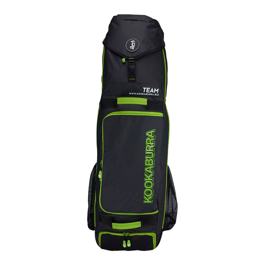 Kookaburra Team hockey bag (2017/18), unisex adulto, Black Kookaburra Hockey