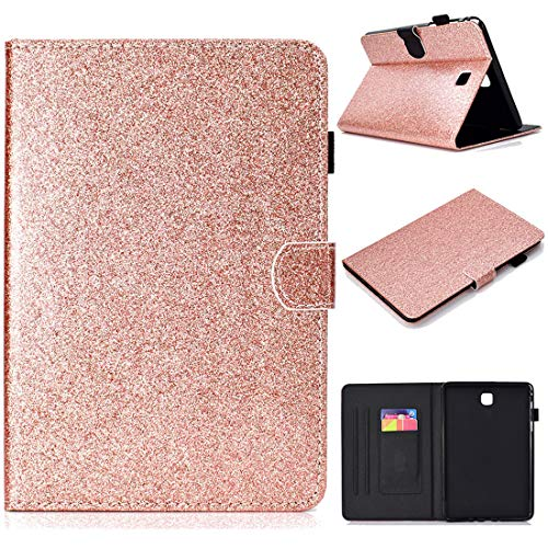(ANGELLA-M for Samsung Galaxy Tab A 8.0 2015 Case, Bling Glitter Sparkle Smart Shell with Stand and Auto Sleep/Wake, Cover for Samsung Galaxy Tab A 8.0