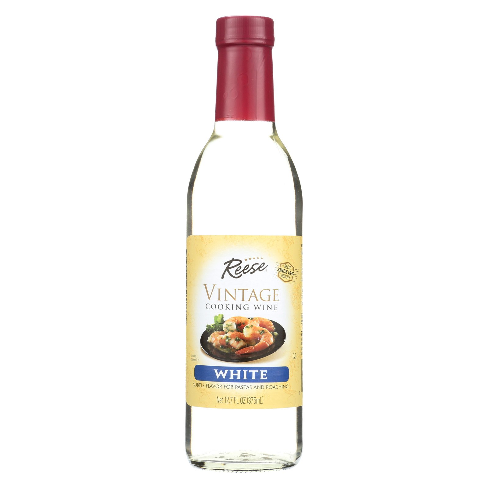 Reese Cooking Wine - White - Case of 6 - 12.7 Fl oz.