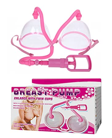 Breast enhancement suction cups