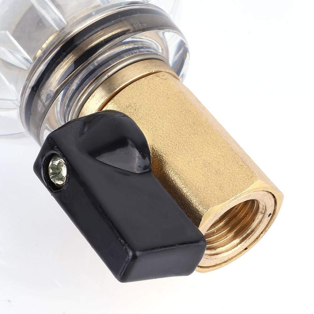 Reutilizable Spin Down Filtro de Agua de Sedimentos Grifo Purificador de Agua Prefiltro Filtro de Sedimentos para Pozo de Agua Filtro de Sedimentos 1//2 Male Thread