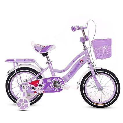 QQB &Carro Plegable Bicicleta para niños Cochecito de bebé 2-4-6 años Niños