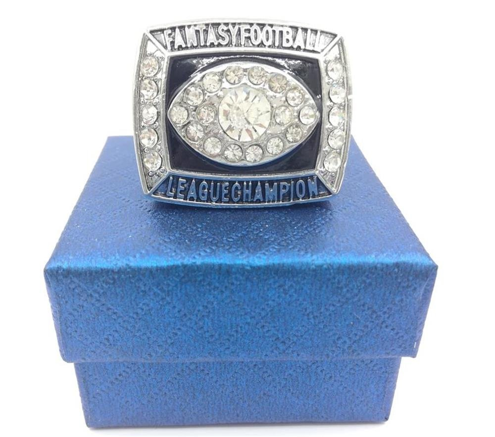 TYSping Fantasy Football 2011-2017 Championship Ring Trophy Prize (2017)