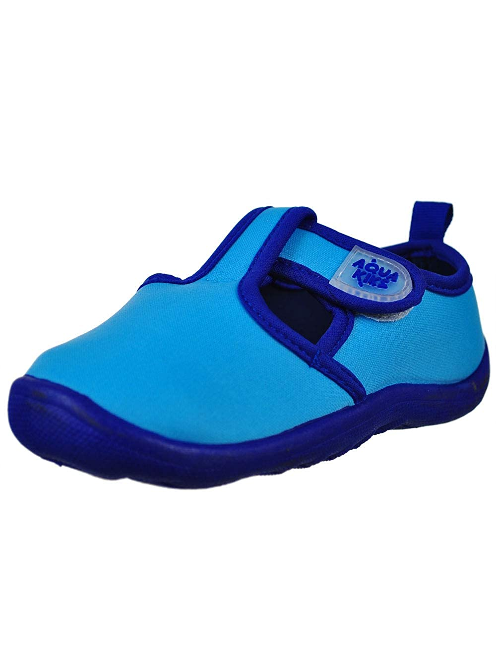 8 Toddler Aqua Kiks Boys Water Shoes Blue
