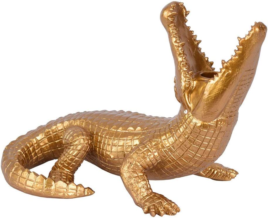 Chandelier Crocodile or Alligator Figurine Chandelier Reptil Chandelier 30cm cw221 Palazzo Exclusif