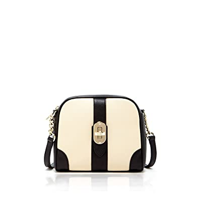 4cd7e94057e Small Crossbody Bags For Women Black Ivory Bag Genuine Leather Crossover  Purse Over The Shoulder Purses and Handbags Chic Two Tone Trendy Style Cross  Body ...
