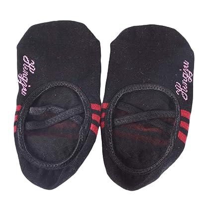 Calcetines de danza joofff calcetines de yoga prácticos y simples ...