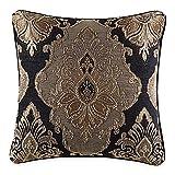 J. Queen New York Bradshaw Black 20' Square Pillow