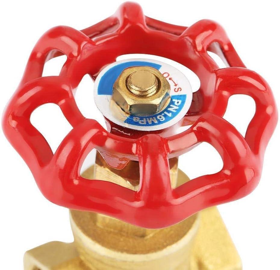 2 Rotary 232PSI v/álvula de compuerta de agua Petr/óleo y Gas Broco DN15 lat/ón V/álvula de compuerta BSP G1