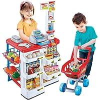 سوبرماركت بليست لعبة عربة الكاشير للاطفال