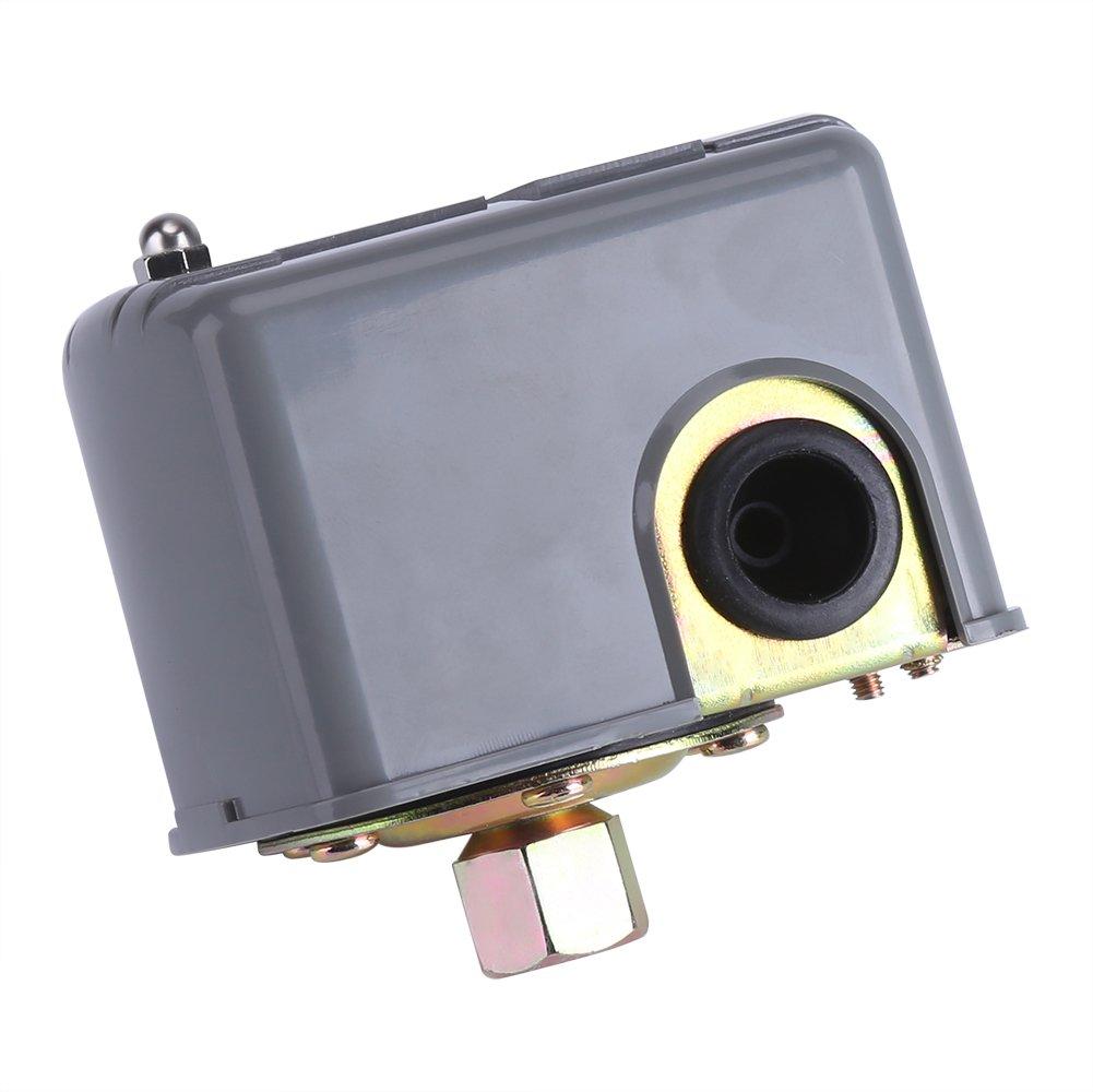 bombas - Regulador de presió n aquacontrol Interruptor de Control de Presió n Bomba de Agua Elé ctrico de 40-60 PSI 110v-230v Poste de resorte doble ajustable para la bomba de agua de jardí n de inyecció n Zerodis