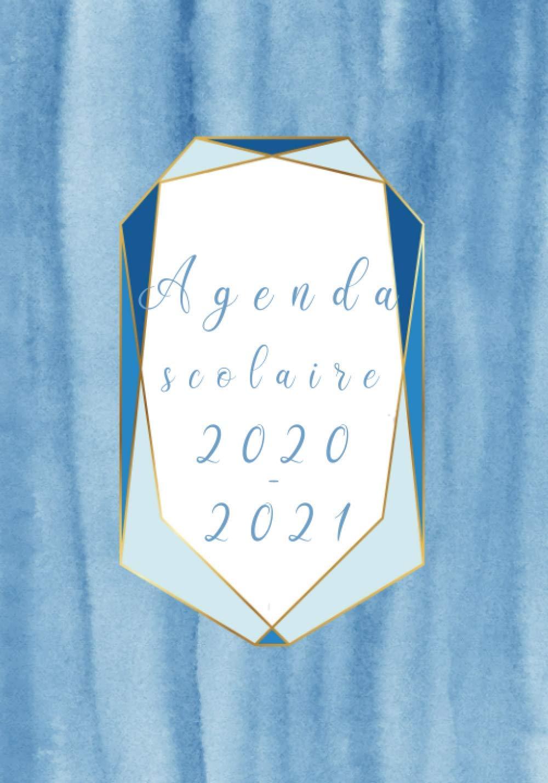 Agenda scolaire 2020 2021: cahier de texte pour enfant et ado