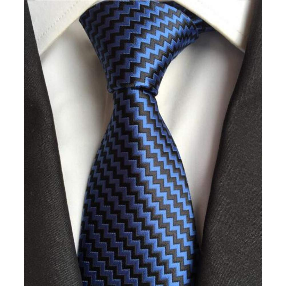DYDONGWL Corbata Fina Hombre,Corbata 8 cm con Raya a Cuadros ...