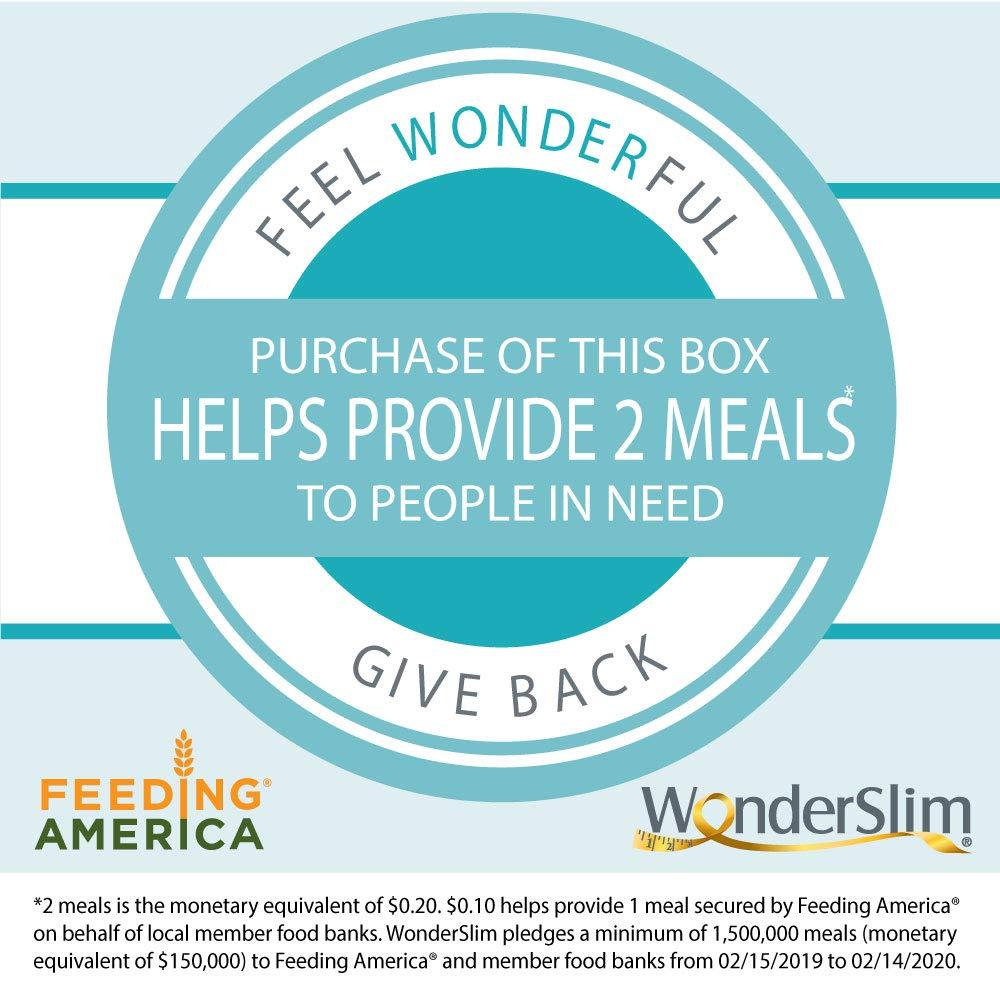WonderSlim High Protein Snack Bar/Diet Bars - ChocoMint (7ct) 6 Box Value-Pack (Save 10%) - Trans Fat Free, Aspartame Free, Kosher, Cholesterol Free by WonderSlim