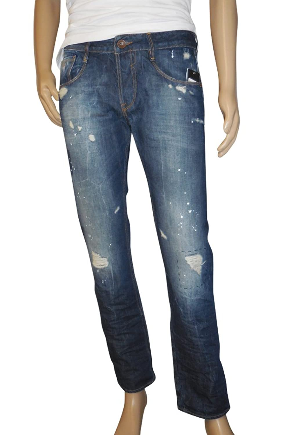 Guess Men's Slim Staight Fit Denim Jeans in Mosquite Wash