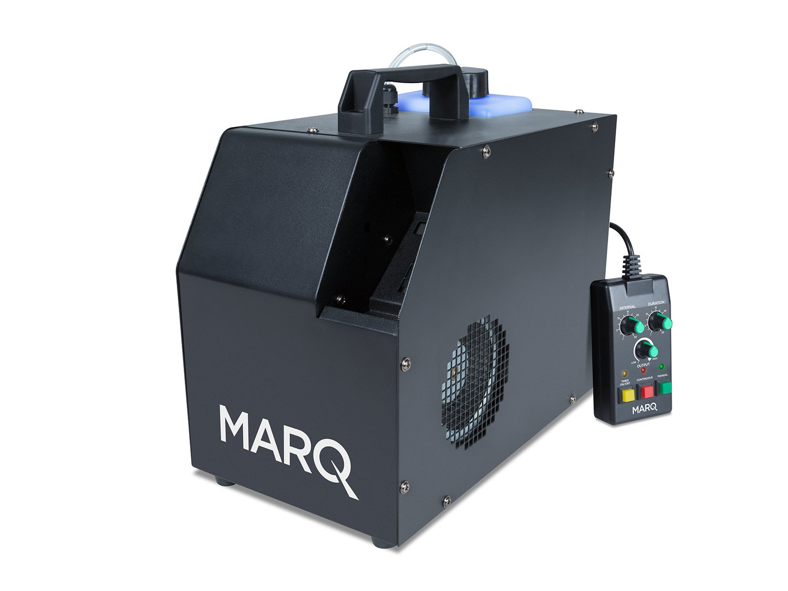 MARQ Haze 800 DMX | Water-based Hazer with Advanced Programming, Selectable Output & Wired Remote Control (800-watts)