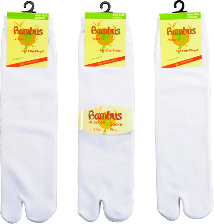 3 x Tabi Socks Flip Flop Socken aus Viskose Wowerat