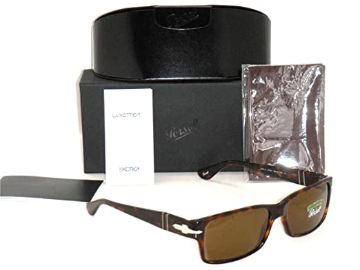 44b4672bca PERSOL 2803 Sunglasses Havana Frame Crystal Brown Polarized PO2803S 24 57  58mm