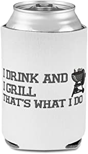 Sleeves for Cans Drink Cooler I and Grill A Grilling Scuba Foam Party Beer Cover