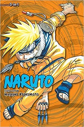 Amazon com: Naruto (3-in-1 Edition), Vol  2: Includes vols