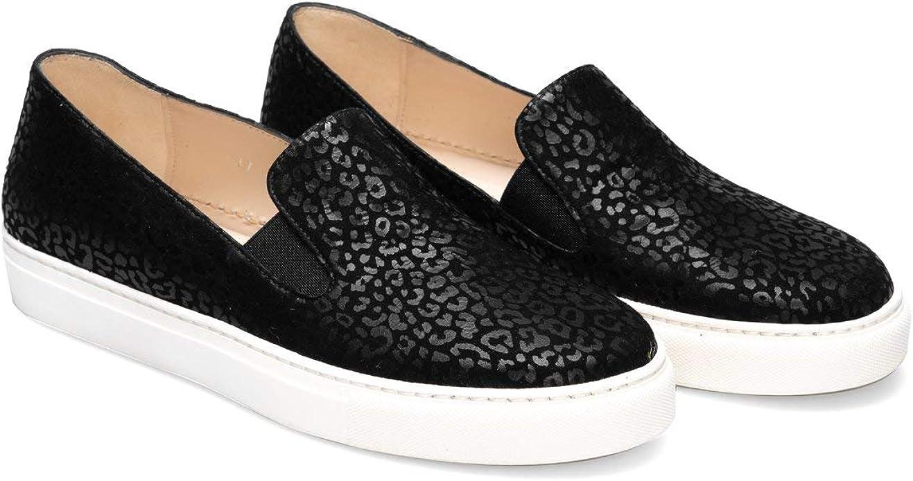 Women Ladies Dress Slip On Sneakers in