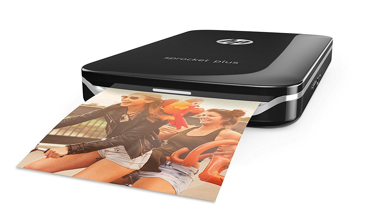 Impresora fotogr/áfica port/átil Color Negro HP Sprocket Plus