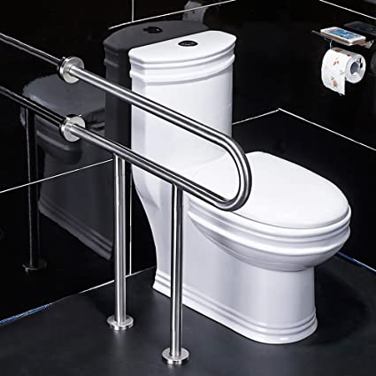 Amazon.com: QFFL fushou Bathroom Handrails/Stainless Steel ...