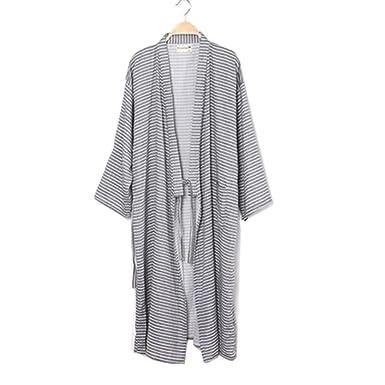 b546fa8c3f Image Unavailable. Image not available for. Colour  Fancy Pumpkin Men s  Japanese Style Robes Pure Cotton Kimono Robe Bathrobe Pajamas ...