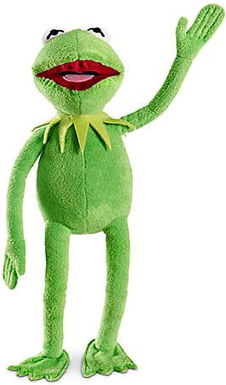 Amazon Com 16 Inch The Muppets Kermit Frog Soft Stuffed Plush Figure Toys Games