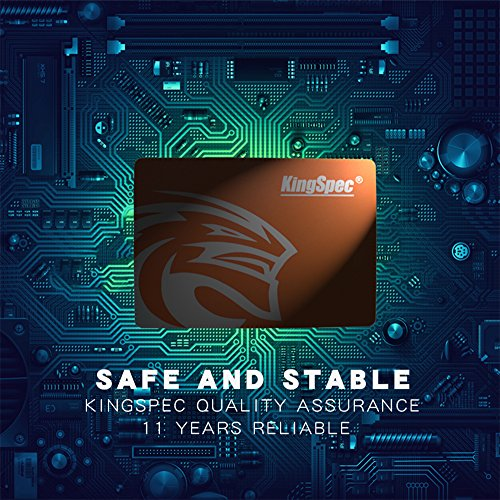 KingSpec 256GB SSD 2.5 Inch Hard Drive SATA3 Internal Solid State Drive P3-256 by KingSpec (Image #6)