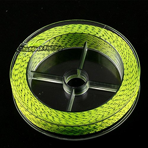 Abrasion Resistant Backing Fly Fishing Line (Yellow&Black,