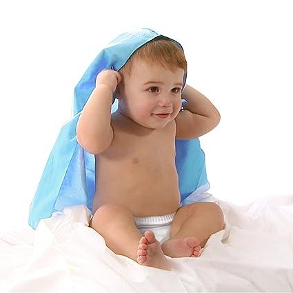 Capa de baño impermeable y cómoda para tu bebe ☆ Toalla con capucha de material