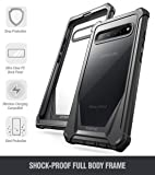 Galaxy S10 5G Rugged Clear Case, Poetic Full-Body