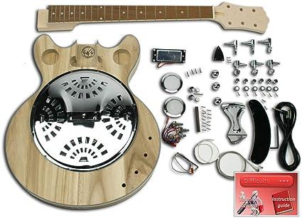 Kit de guitarra eléctrica – Electrifusión (resonador): Amazon ...