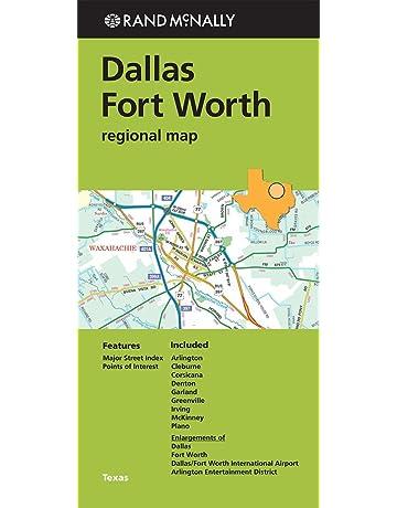Folded Map: Dallas Fort Worth Regional Map