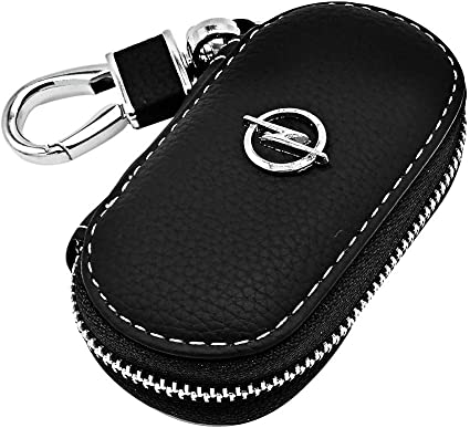 Opel Porte-cl/és de qualit/é en cuir Noir Porte-cl/és