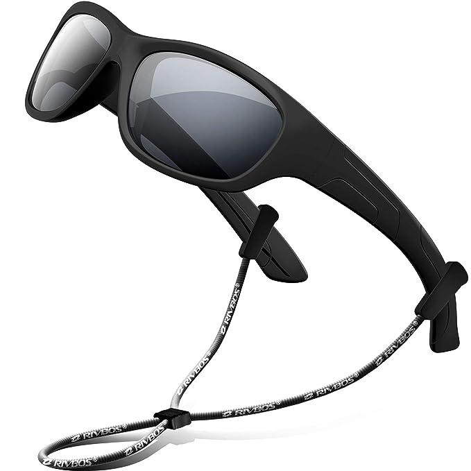 Amazon.com: RIVBOS RBK025 Gafas de sol polarizadas de goma ...